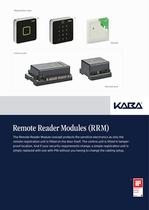 Remote Reader Modules (RRM) - 1