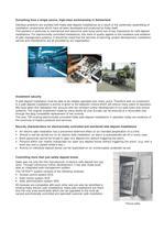 Safe Deposit Installations - 2