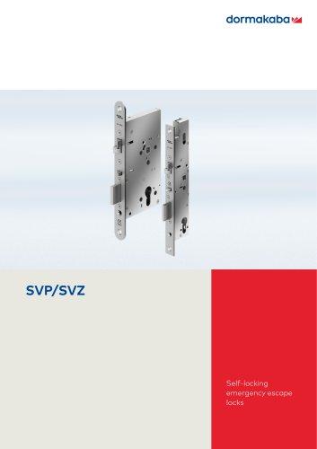 Self-locking emergency escape locks