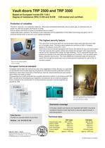 Vault Doors TRP 2500/3500 - 2