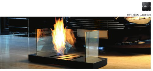 Radius Design Ethanol Fireplaces
