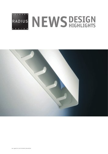Radius Design - NEWS Highlights 2012