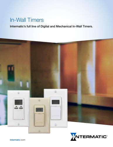 In-Wall Timer Brochure