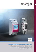 Time Switch Technology Product Catalog
