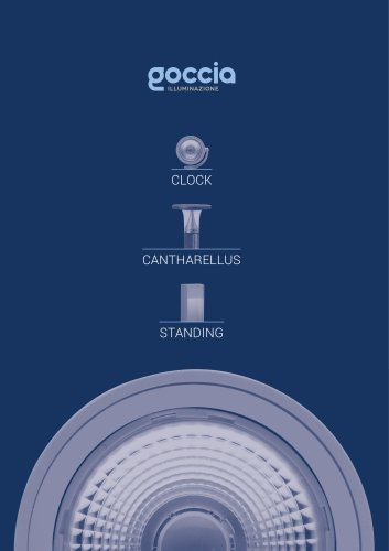 CLOCK / CANTHARELLUS / STANDING - New Product