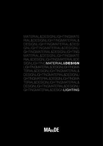 Material & Design Lighting