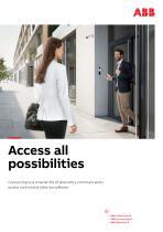 ABB-Welcome IP/ABB-AccessControl/ABB-VideoControl - 2