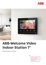 ABB-Welcome Video Indoor Station 7'' - 1