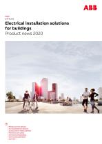Electrical installation solutions for buildings Product news 2020 - 1