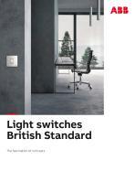 Light switches British Standard - 1