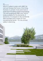 SMART BUILDING ABB i-bus® KNX Intelligent building systems technology - 3