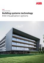 SMARTER HOME Building systems technology KNX Visualisation options - 1