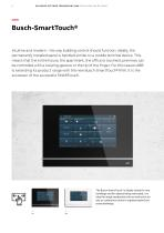 SMARTER HOME Building systems technology KNX Visualisation options - 4