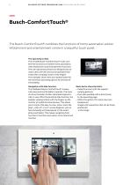 SMARTER HOME Building systems technology KNX Visualisation options - 6