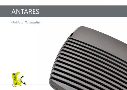 ANTARES Outdoor floodlights