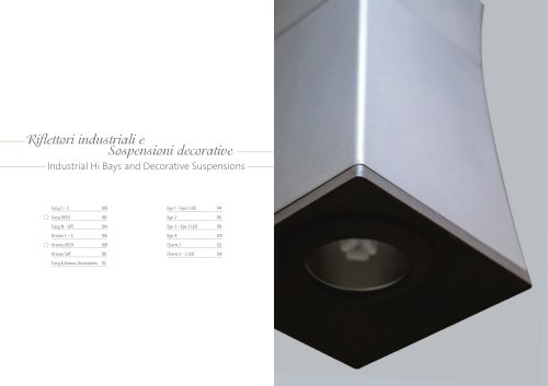 Industrial Hi Bays and Decorative Suspensions