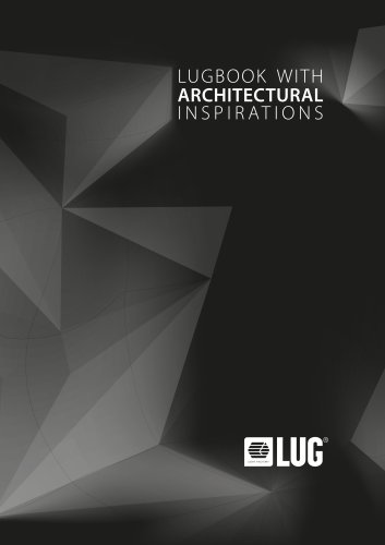 LUGBOOK WITH ARCHITECTURAL INSPIRATIONS