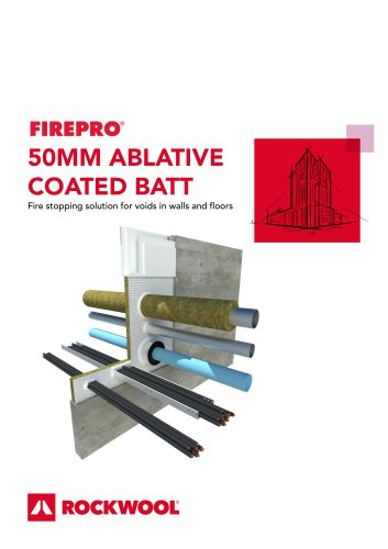 Ablative Coated Batt