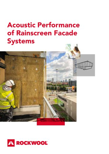 Acoustic Performance of Rainscreen Facade Systems