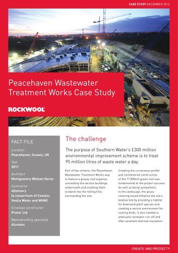 CASE STUDY: PEACEHAVEN WATER TREATMENT PLANT