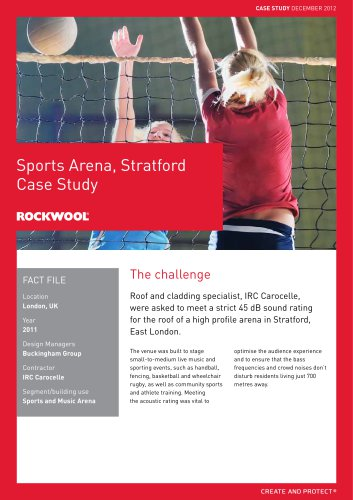 CASE STUDY: SPORTS ARENA LONDON