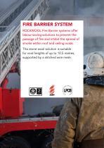 FIRE BARRIER SYSTEM - 2