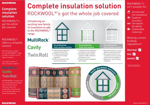 *NEW* ROCKWOOL TRADE RANGE