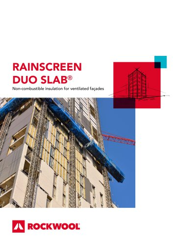 RAINSCREEN DUO SLAB®