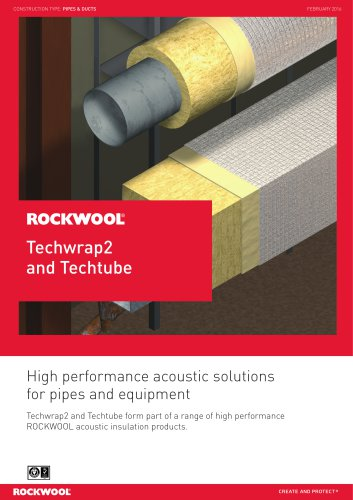 Rockwool techwrap & techtube