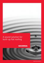 SOUND SOLUTIONS FOR BUILT UP FLAT ROOFING BROCHURE - 1