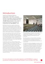 SOUND SOLUTIONS FOR BUILT UP FLAT ROOFING BROCHURE - 3