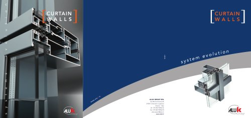 CURTAIN WALLS - ALUK GROUP - PDF Catalogs | Documentation