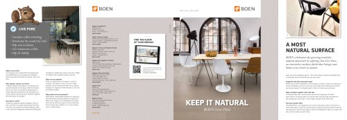 BOEN Live Pure Brochure INT