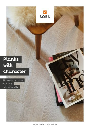 Planks with character
