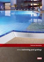 emco swimming pool gratings