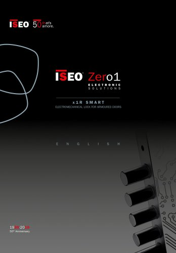 ISEO Zero1 ELECTRONIC SOLUTIONS x 1 R SMART ELECTROMECHANICAL LOCK FOR ARMOURED DOORS