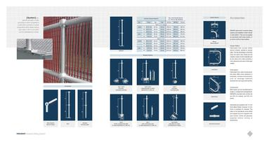 Industrial railing system