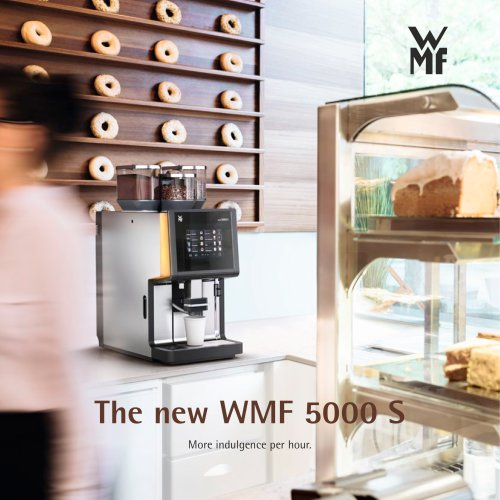 The new WMF 5000 S