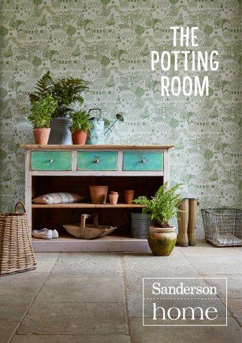 POTTING ROOM SANDERSON HOME