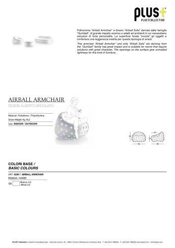 AIRBALL ARMCHAIR Basic Colours