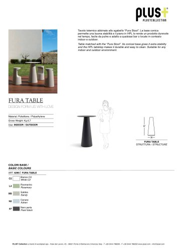 FURA TABLE