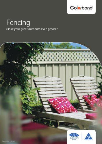 Fencing Colorbond