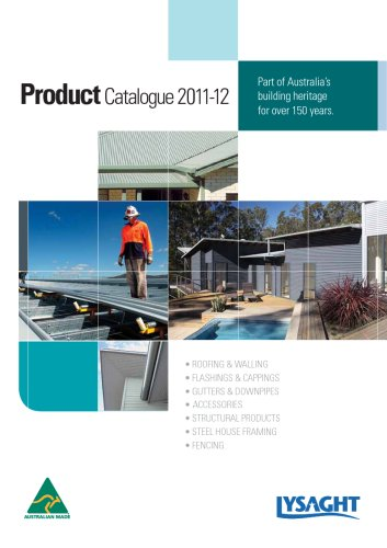 Product Catalogue 2011-12 Lysaght
