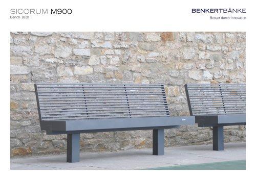 SICORUM M900 bench 1810
