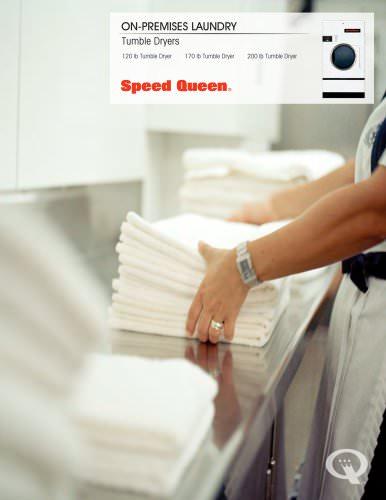 120/170/200 lb On-Premises Tumble Dryer