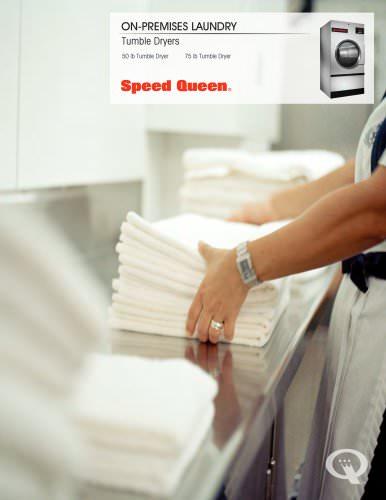 25-55 lb On-Premises Tumble Dryer