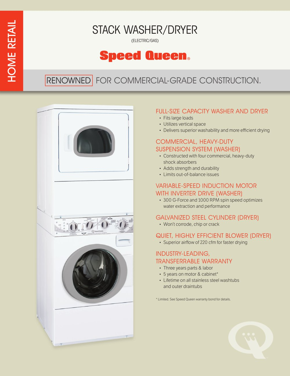 Frontload Stack Washer Dryer 1 2 Pages