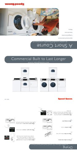 Short Course in Laundry Brochure