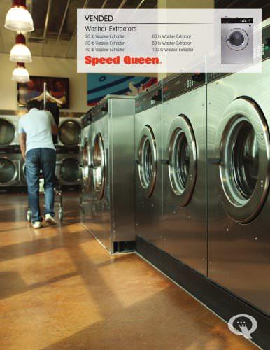 Washer-Extractors, SC20-100 lb Quantum Controls
