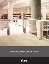 Touch-Free Hand Sanitizer Stands Brochure